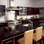 Brilliant Kitchens With Black S Of Inspiring Kitchen Cream Chairs