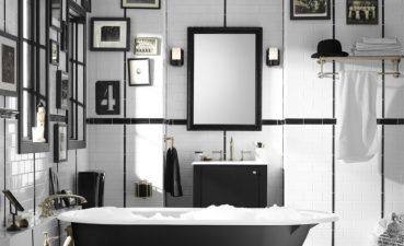 Brilliant New Bathroom Designs Of I Love The Above Black And White