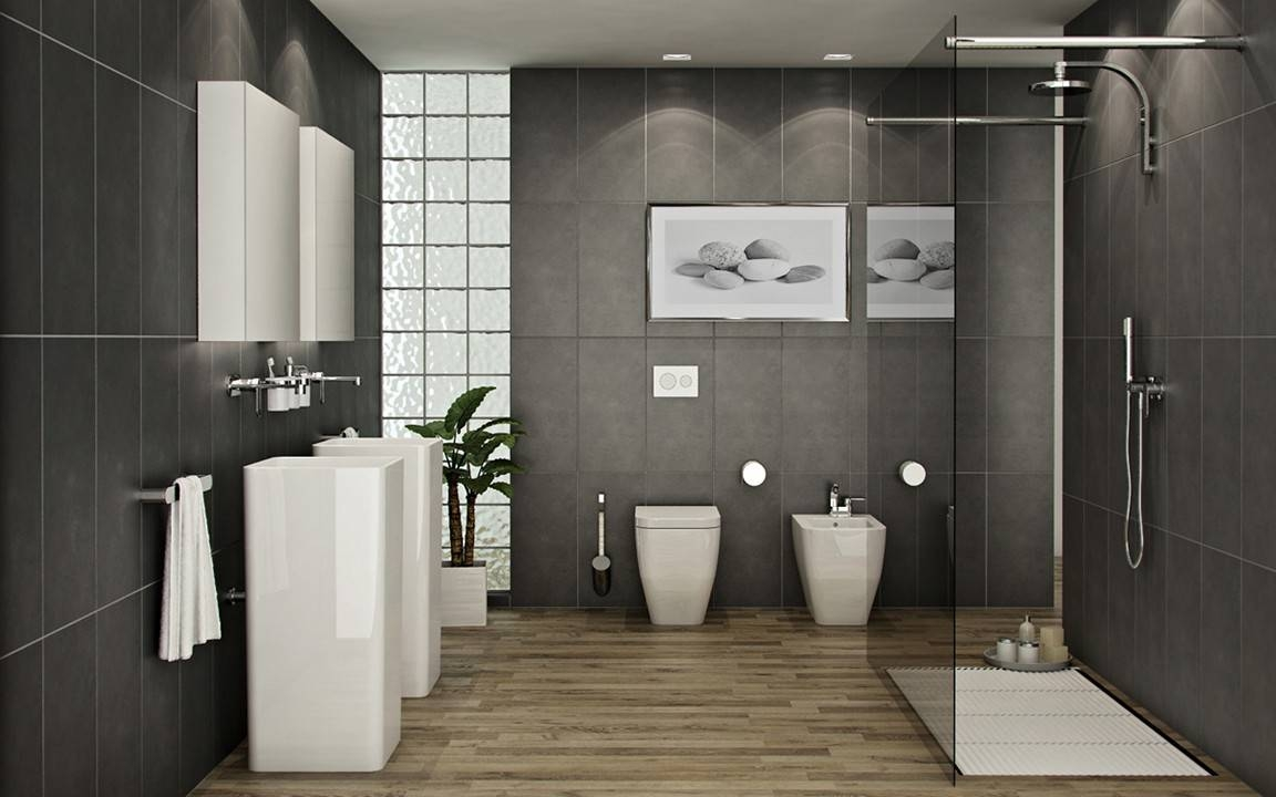 Captivating Bathroom Wall Art Ideas Of Cool Throughout Most Recent Contemporary Gallery Acnn Decor