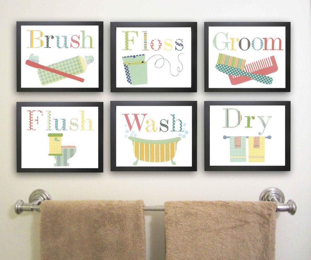 Captivating Bathroom Wall Art Of Decorating Tips Inoutinterior