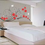 Captivating Bedroom Wall Painting Of Paint Design Paint Design For Bedrooms Inspiring