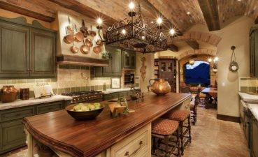 Captivating Rustic Kitchen Designs Of Tuscan Design