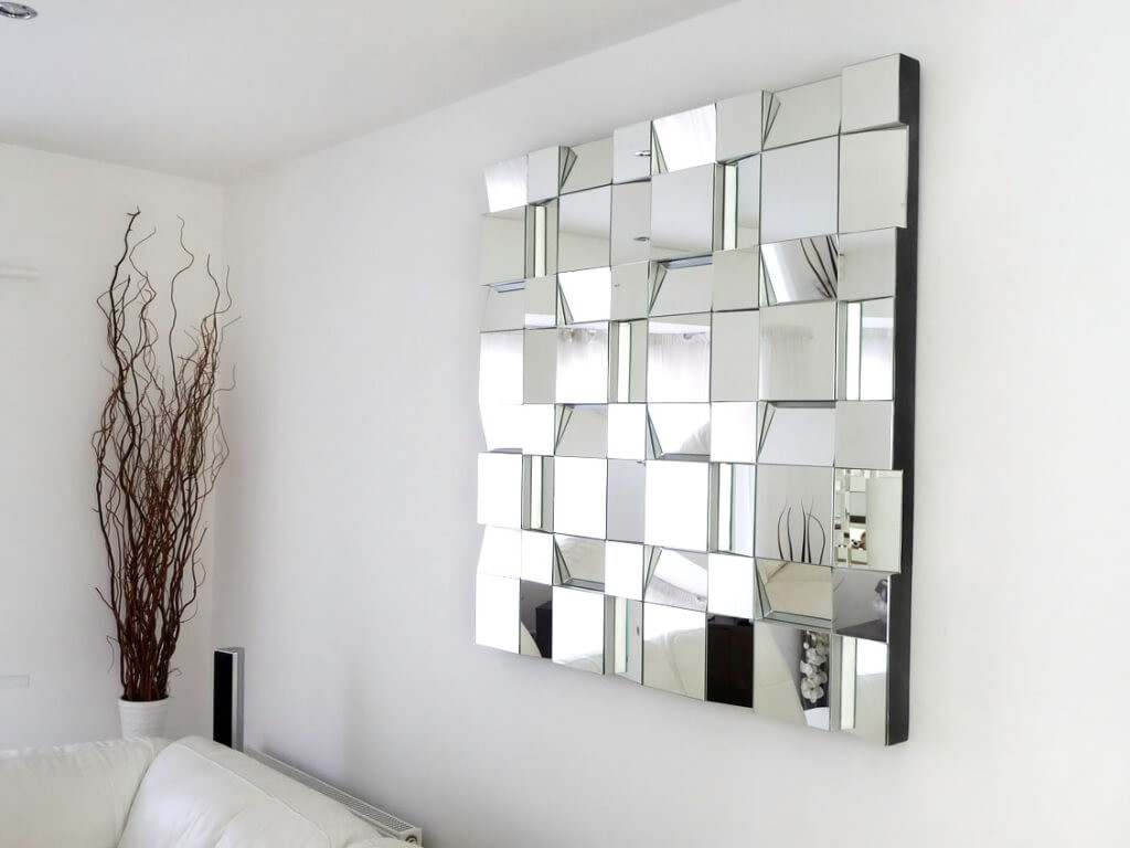 Charming Modern Wall Decor For Living Room Of Contemporary Large Decorative Mirrors And Ideas