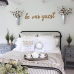 Charming Wall Decorations For Bedroom Of Cotton Bouquets To Greet The Guest