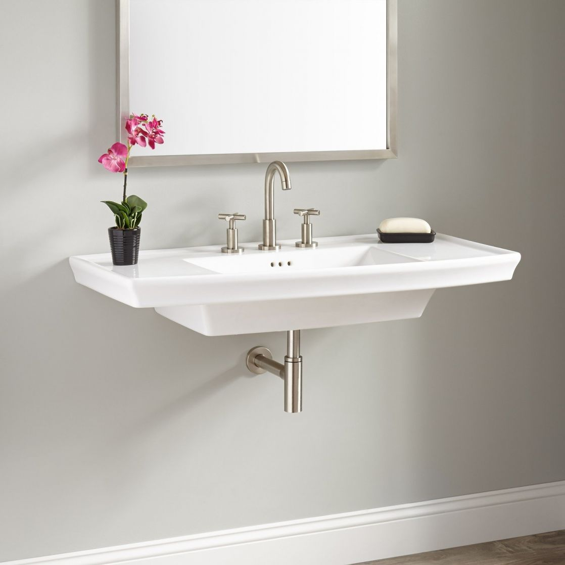 Charming Wall Mounted Bathroom Sinks Of Surprising Toilet As Lovely Hung Sink