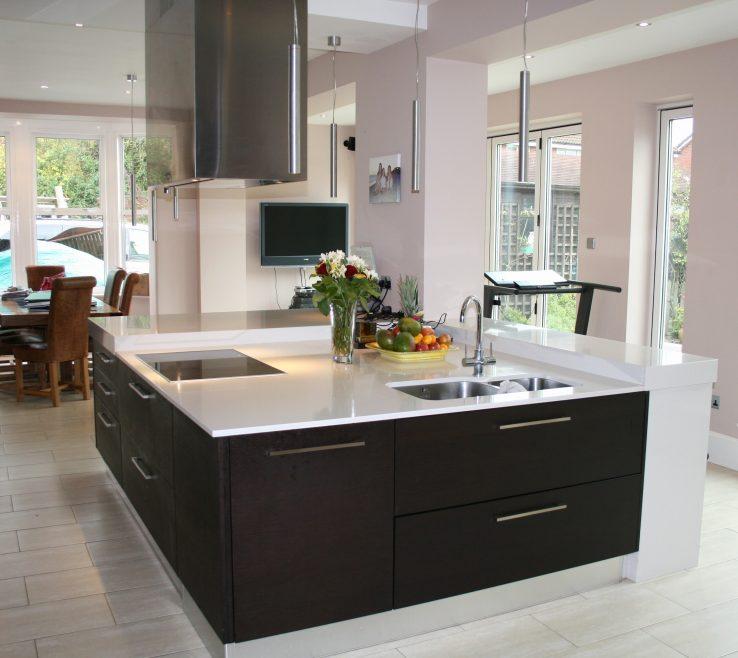 Cool Best Kitchen Designs Of Island With Butcher Elegant Design