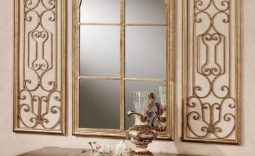 Decorative Wall Mirrors For Living Room Of Decorating Majestic Whirling Round Mirrored Decor Ideas