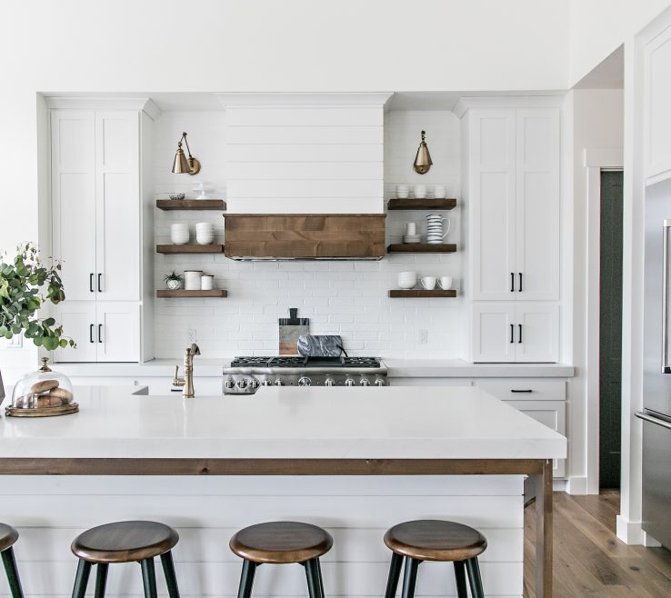 Dining Nook Of The Design Of The Kitchen Centered Around