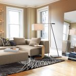 Elegant Floor Lamp Ideas For Living Room Of large Mirrors But In The Right Place