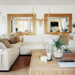 Elegant Living Room Wall Mirrors Of Rectangle Mirror