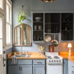 Elegant Small Kitchen Ideas Of Find Serenity With Muted Blues