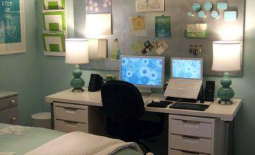 Enchanting Bedroom Office Ideas