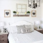 Enchanting Bedroom Wall Decor Of Luxury Love Note White Rustic E Master