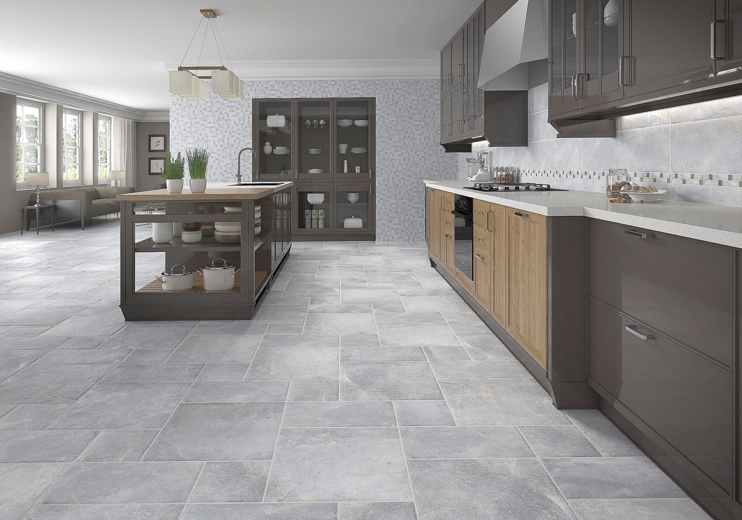 grey floor tile designs