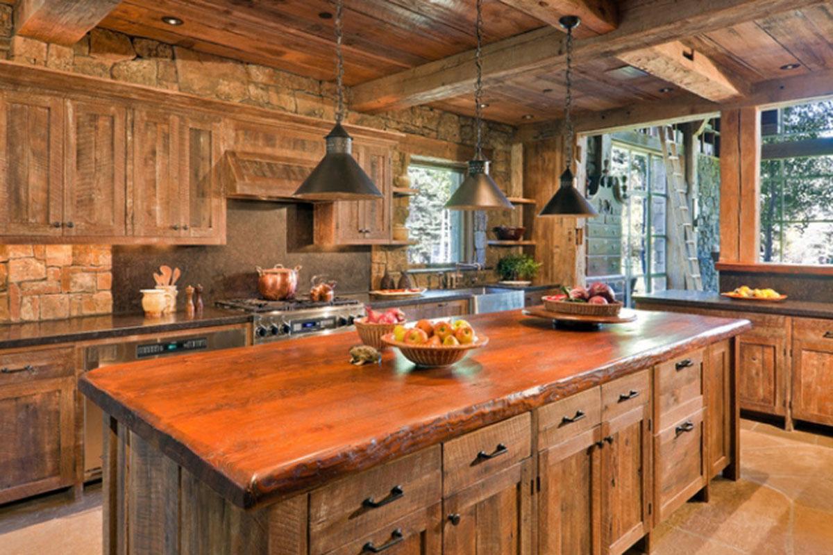 Enchanting Rustic Kitchens Of Unique Kitchen Designs For