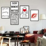 Enchanting Wall Paintings For Living Room Of Quotes Life Proverbs Red Heart Girls Red