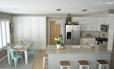 Enchanting White Rustic Kitchen Of Table Area Sources