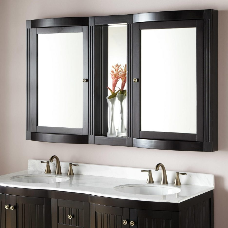 Endearing Bathroom Mirror Wall S Of Recessed Vanity Inch Lighted Medicine