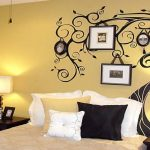 Endearing Bedroom Wall Painting Of Design For Bedrooms Tree