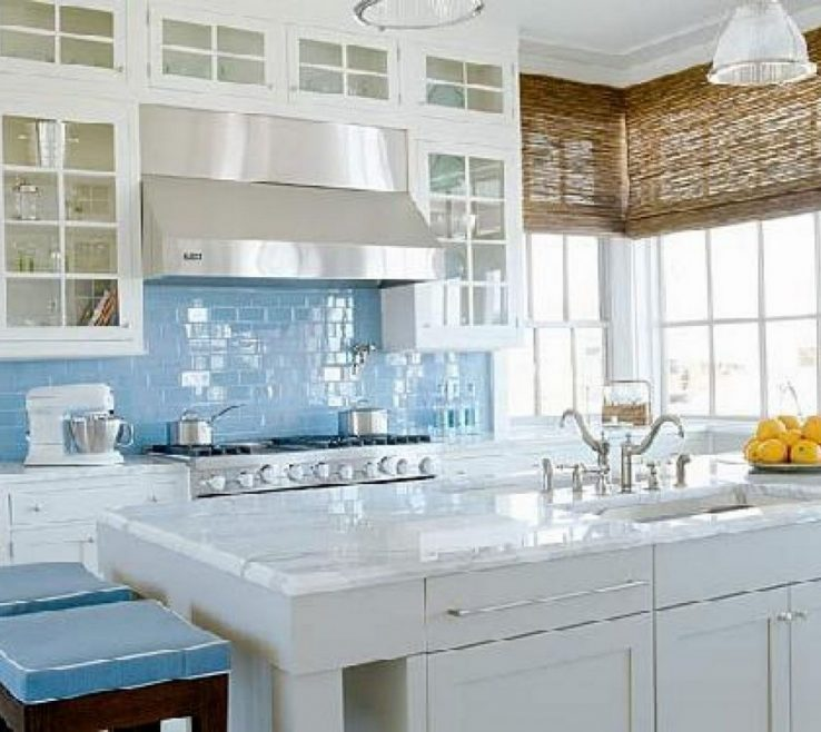 Endearing White Marble Kitchen S Of Best Ideas