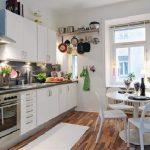 Entrancing Apartment Kitchen Of Decor Unique Elegant Ideas Small Design