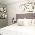 Entrancing Bedroom Wall Decorations Of Swag Of Cotton Over Black