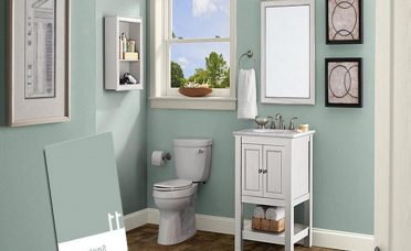 Entrancing Gray Tile Bathroom What Color Walls Of Foxy In Paint Ideas Best Paint Colors