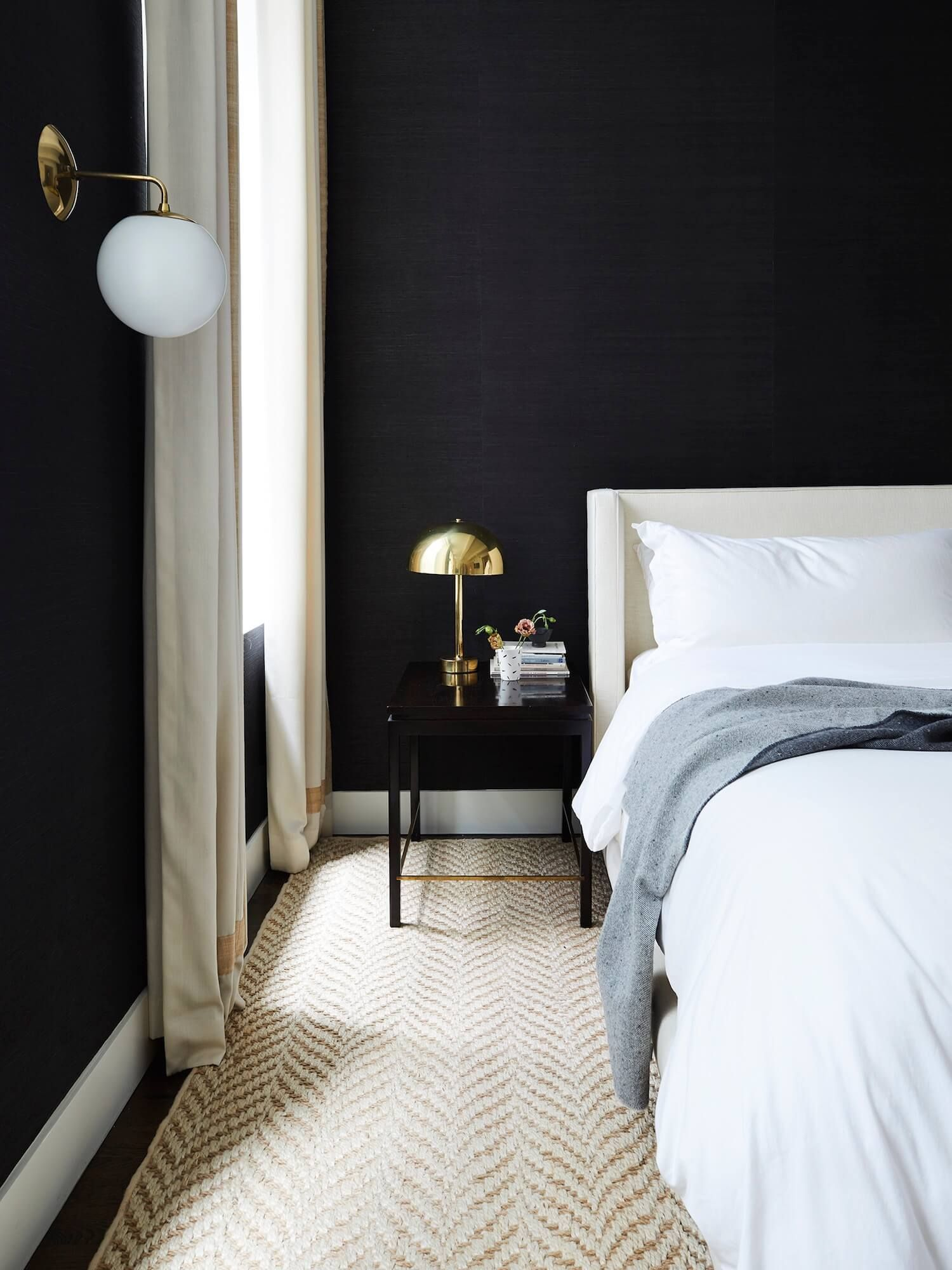 Exquisite Bedroom Walls Of Painting Two Different Colors Lovely Tribeca Loft