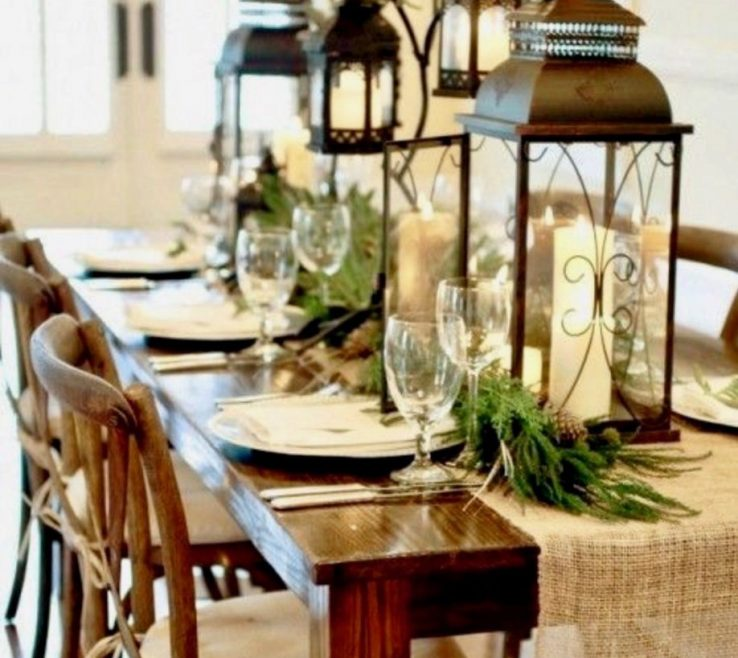 Exquisite How To Decorate Dining Table When Not E Christmas Tables Decorations Room Holidays