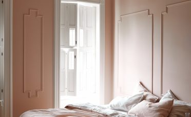 Exquisite Pink Bedroom Walls Of Brooklyn Architect Jess Thomas Of Shapeless Studio