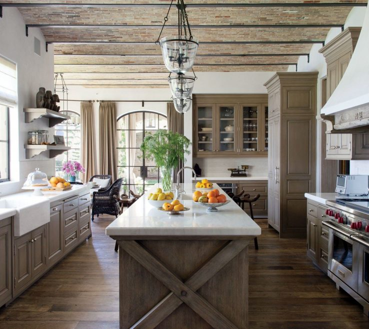Extraordinary Rustic Kitchen Of Superbliances Luxury Modern E Kitchens Ideas