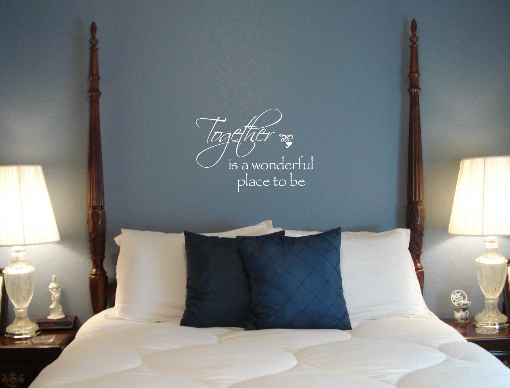 Eye Catching Wall Quotes For Bedroom Of Decal Ideas Including