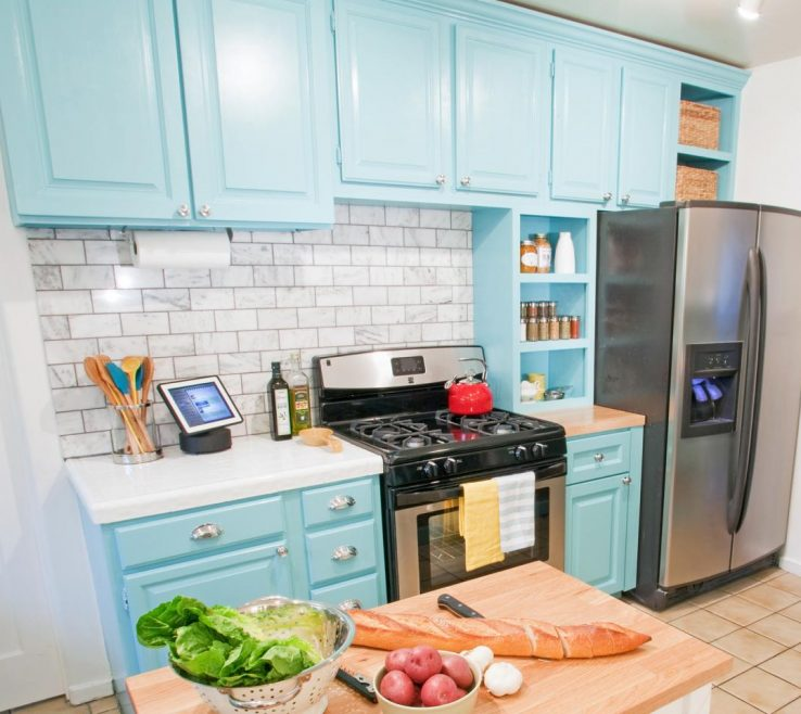 How To Paint Kitchen S Of Repainting