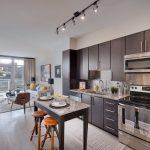 Impressing Apartment Kitchen Of Best Gourmet Apartment Kitchens In Arlington Union