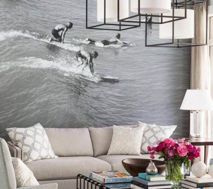 Impressing Living Room Ideas Of Dream Home Mural