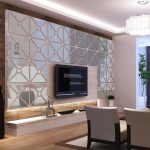 Impressing Mirrored Walls In Living Rooms Of Squares Diy Acrylic Mirror Wall Sticker
