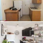 Impressive Apartment Kitchen Of What A Great Transformation