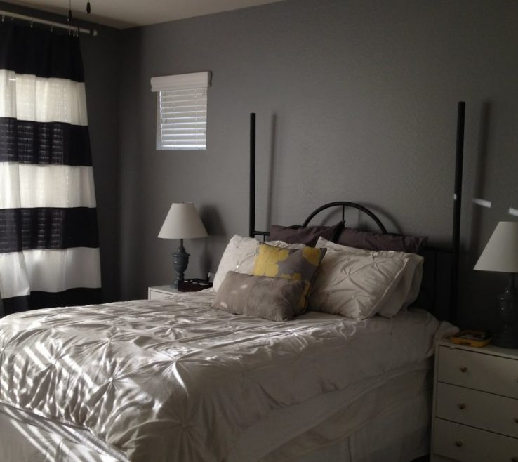 Impressive Best Gray Paint Colors For Bedroom Of How To A Wall Bedrooms Wall Ideas