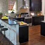 Impressive Kitchens With Black S Of Granite Style