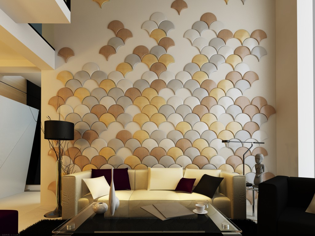 Impressive Living Room Wall Panels Of Image Of Decorative Paneling Ideas