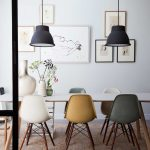 Ing Mixed Dining Chairs Of Eames Chair Chairs Trial Chairs Modern Chairs