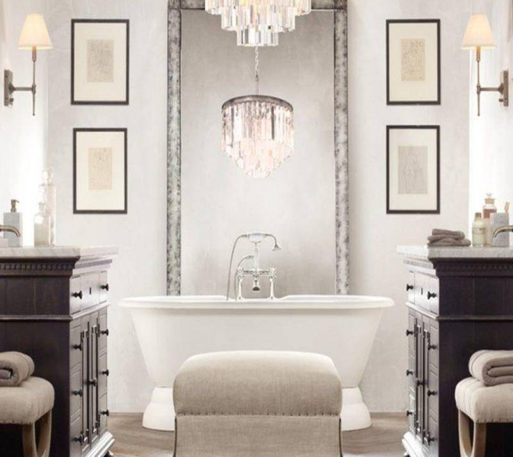Inspiring Bathroom Chandeliers