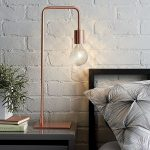 Inspiring Floor Lamp Ideas For Living Room Of Bedroomsbedroom Decor With Modern Copper Table Near