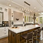 Inspiring Kitchen Island With Sink Of And Raised Bar For And Bar Decorative