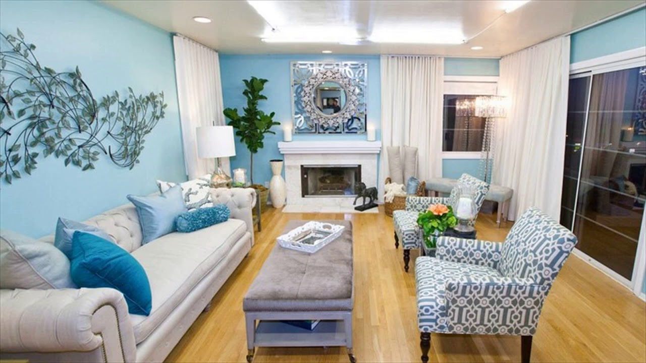 Inspiring Light Blue Walls Living Room Of Sky Paint Colors - ACNN ...