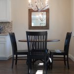Inspiring What To Put In The Middle Of Your Kitchen Table Of Now Lets Try A Mitered Seating Arrangement