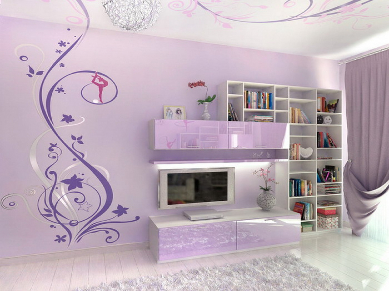 Interior Design For Girls Bedroom Wall Decor Of Lavender Bedrooms Teen Ideas Teen Acnn Decor,Farmhouse French Country Master Bedroom