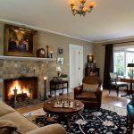 Interior Design For Living Room Paint Colors Of Soft Neutrals In The Original Batchelder Tiles
