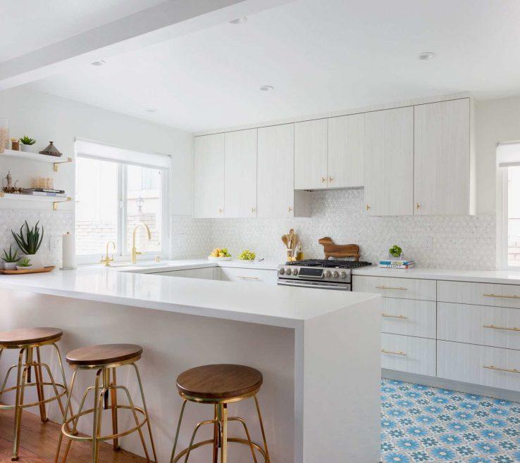 Interior Design For Marble Kitchen