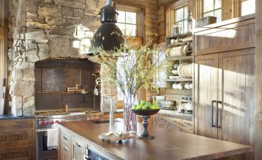Interior Design For Modern Rustic Kitchen Of Sun Warmed Modern Full Of Natural Wood Andamp